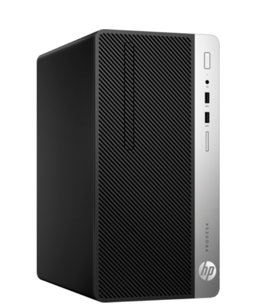 HP ProDesk 400 G5 MT, Core i3-8100(3.6GHz/6MB/4C), 4GB 2666M