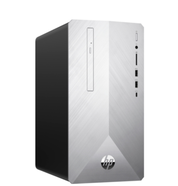 HP Pavilion Desktop 595-p0010nu, Core i3-8100(3.6Ghz/6MB/4C)