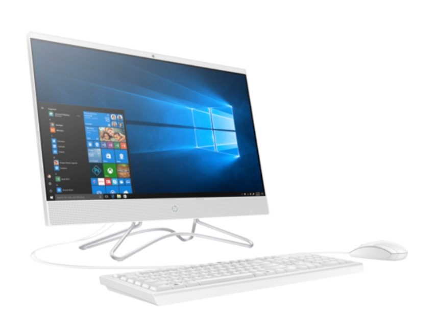 HP All-in-One 24-f0005nu White, Core i5-8250U(1.6Ghz, up to