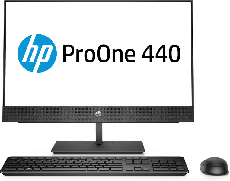 HP ProOne 440 G4 Non-Touch All-in-One, Core i5-8500T(2.1GHz,