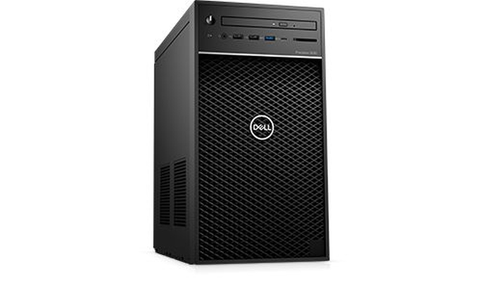 Dell Precision 3630 Tower, Intel Xeon E-2124, (up to 4.3Ghz,